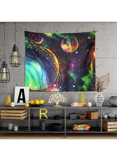 Eponj Home Tapestry Duvar Örtüsü 120x145 cm ColorSpace Mix Renkli